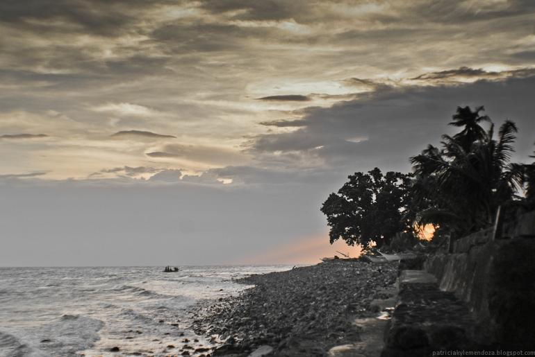 Lost you in a cloud. (Lobo, Batangas)