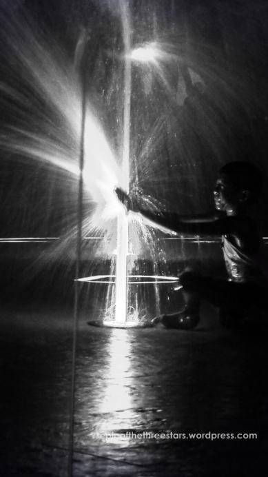 Dancing Fountains at Plaza Salcedo, Vigan City