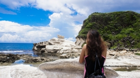 Kapurpurawan Rock Formations